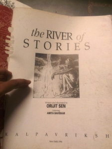 River of Stories by Orijit Sen (Possibly the only extant copy)
